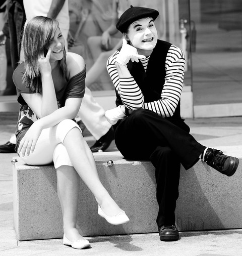 Mime Artist - Richard Knight 7